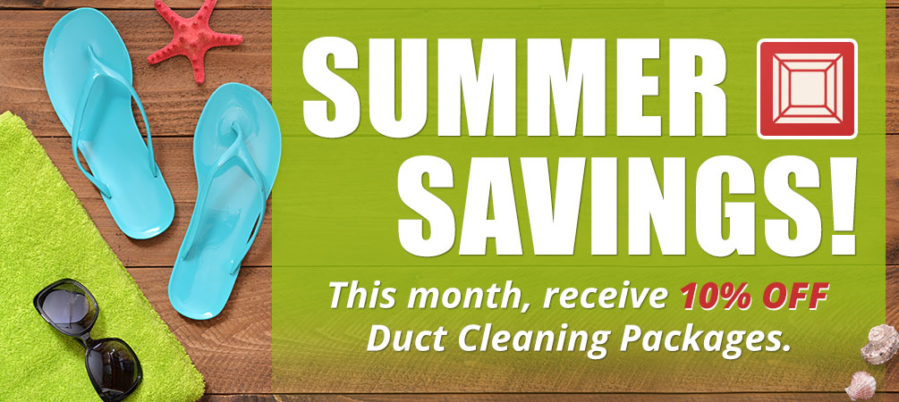 Save 10% on Duct Cleaning Packages