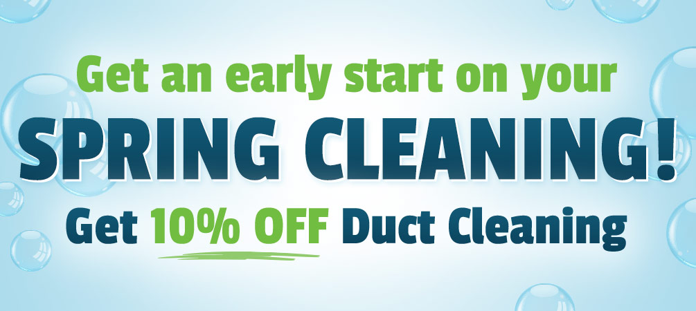 10% off duct cleaning
