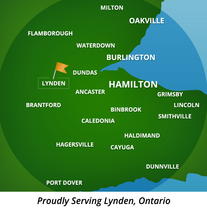 Proudly Serving Lynden, Ontario