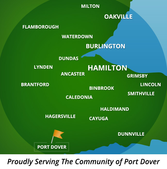 Proudly Serving Port Dover, Ontario