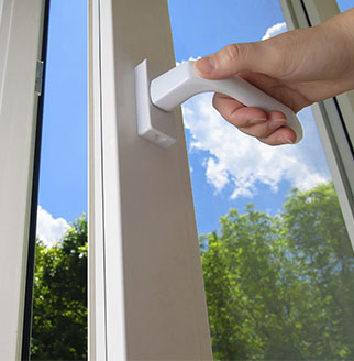 Open Windows improve indoor air quality
