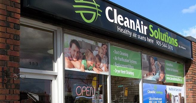 CleanAir Solutions Store Front