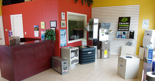 CleanAir Solutions Store Interior