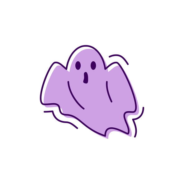 spooky cartoon ghost