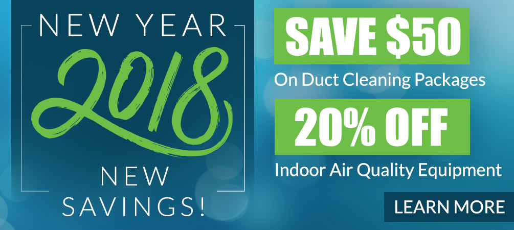 save on duct cleaning and air quality equipment