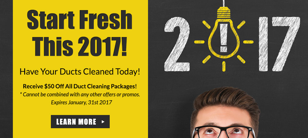 Duct Cleaning Special January 2017