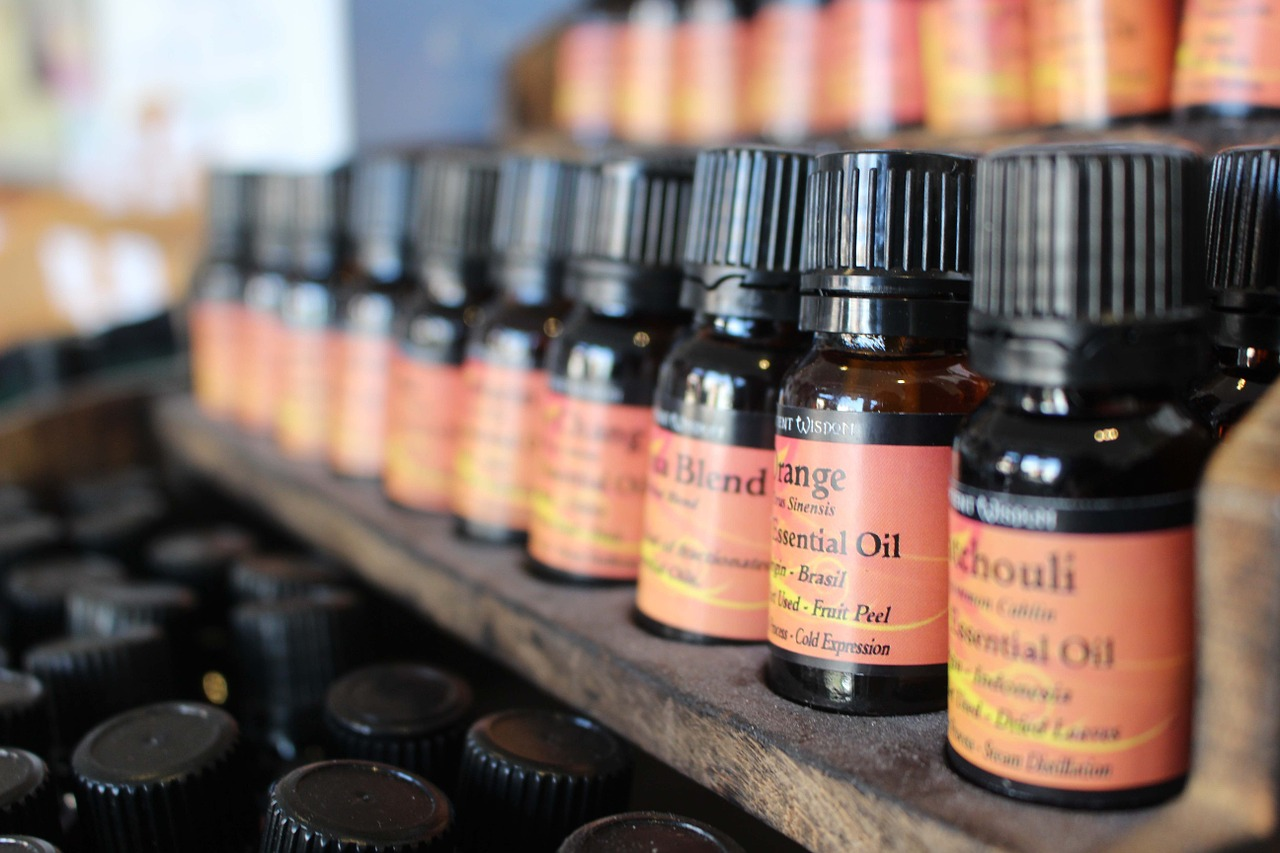 essential oils air purification