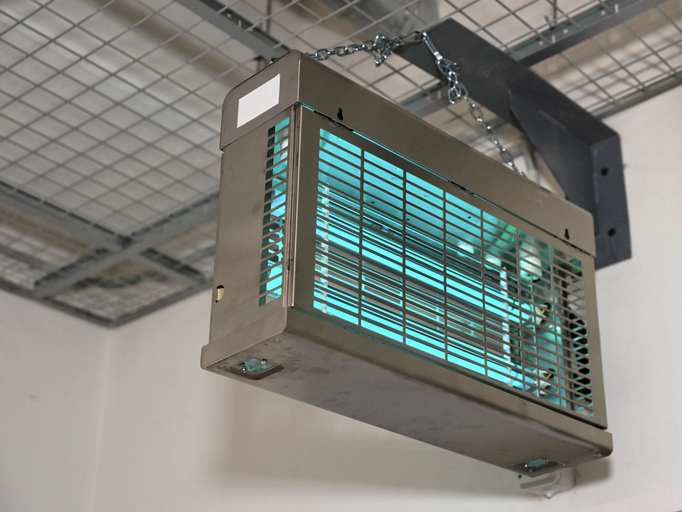ultraviolet air purifier hanging