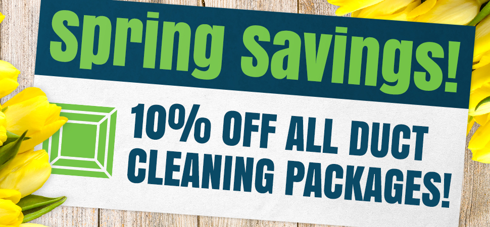 save 10% on duct cleaning offer